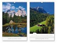 Hory 2016 - nástěnný kalendář