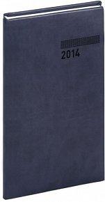 Diář 2014 - Tucson-Vivella - Kapesní, tmavě modrá (ČES, SLO, ANG, NĚM)