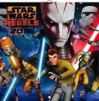 Kalendář nástěnný 2016 - Star Wars Rebels - DIY: s 36 kartičkami pexesa, poznámkový  30 x 30 cm