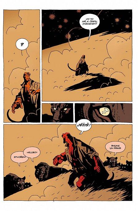 Náhled Hellboy 6 - Podivná místa - brož.
