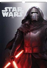 Kalendář nástěnný 2018 - Star Wars – Plakáty