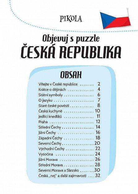 Náhled Objevuj s puzzle: Česká republika