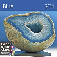 Kalendář 2014 - Blue - nástěnný