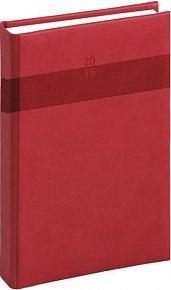 Diář 2015 - Aprint - Denní A5, červená (CZ, SK, GB, DE)