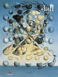 Salvador Dalí 2011 - nástěnný kalendář