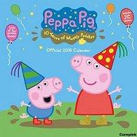 Kalendář 2015 - Prasátko Peppa/Peppa pig (305x305)