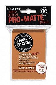 UltraPRO: 60 DP PRO Matte obaly malé  - oranžová