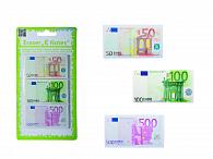 Guma školní bankovky EURo 3 ks