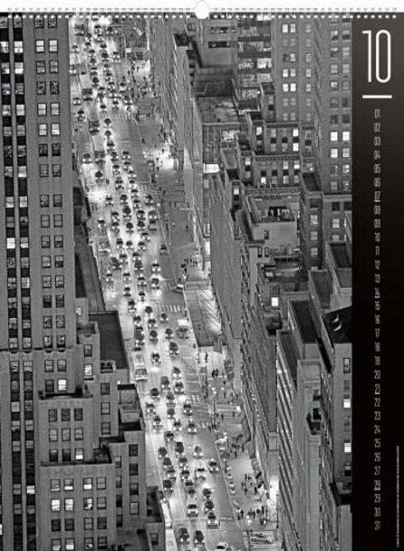 Náhled Kalendář nástěnný 2018 - New York – Jakub Kasl