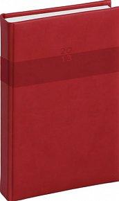 Diář 2013 - Aprint - Denní A5 Praktik, červená, 15 x 21 cm