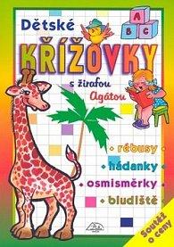 Dětské křížovky s žirafou Agátou