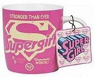 Hrnek keramický - Supergirl/logo 300 ml