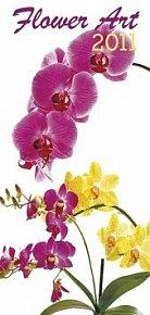 Kalendář 2011 - Flower Art (20x42) nástěnný
