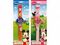 Bublifukové hodinky Mickey a Minnie