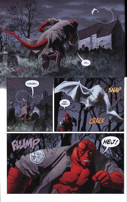 Náhled Hellboy 11 - Ďáblova nevěsta a další příběhy