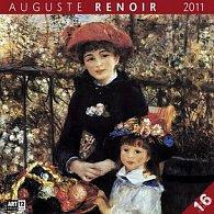 Kalendář 2011 - Auguste Renoir (30x60) nástěnný poznámkový