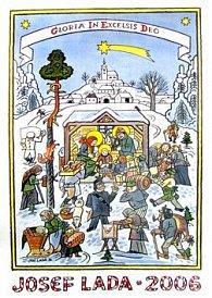 Josef Lada Zima 2006 - nástěnný kalendář