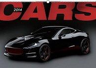 Kalendář 2014 - Auta - nástěnný s prodlouženými zády