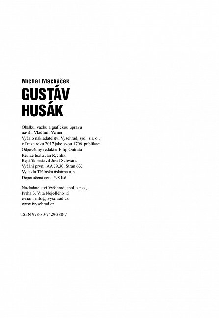 Náhled Gustáv Husák