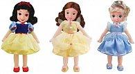 Disney Princezna s měkkým tělíčkem, 3 druhy