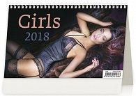 Kalendář stolní 2018 - Girls