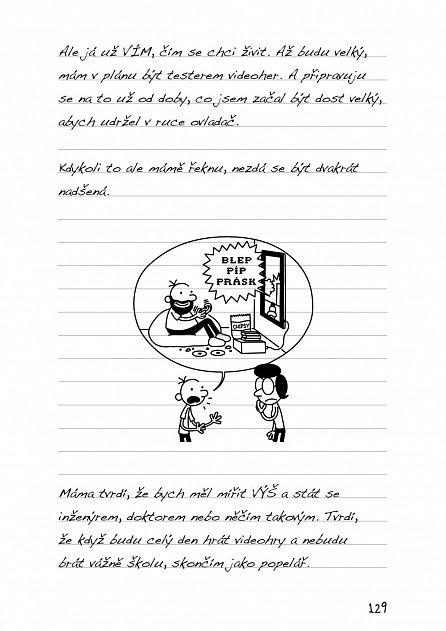 Náhled Deník malého poseroutky 11 - Všechna sláva