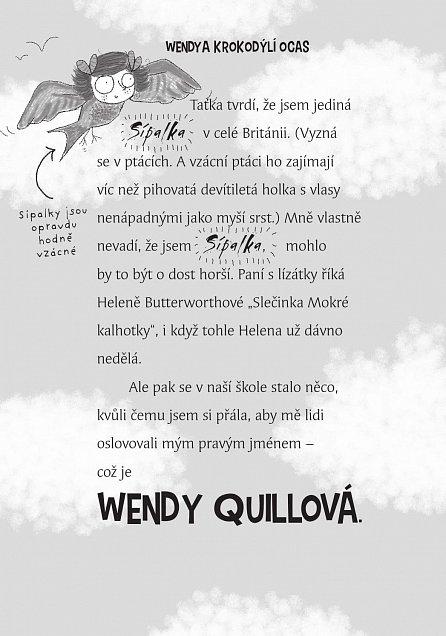 Náhled Wendy Quillová a krokodýlí ocas