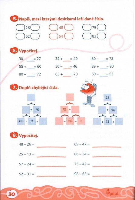 Náhled Domácí procvičování - Matematika 3. ročník