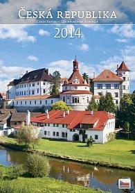 Kalendář 2014 - Česká republika - nástěnný