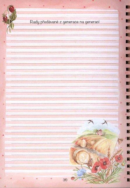 Náhled Moje kuchařka - Zápisník na recepty, umění prostřít stůl, bonton