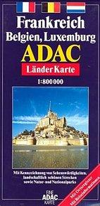Francie - plán 1:800T