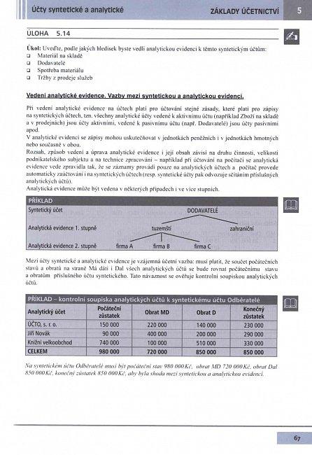 Náhled Učebnice Účetnictví I. díl 2016