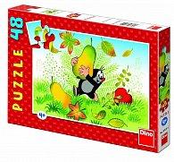 Puzzle Krteček shruškou 48 dílků