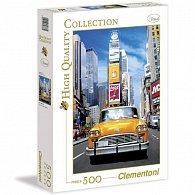 Puzzle 500 dílků Taxi na Times Sqouare