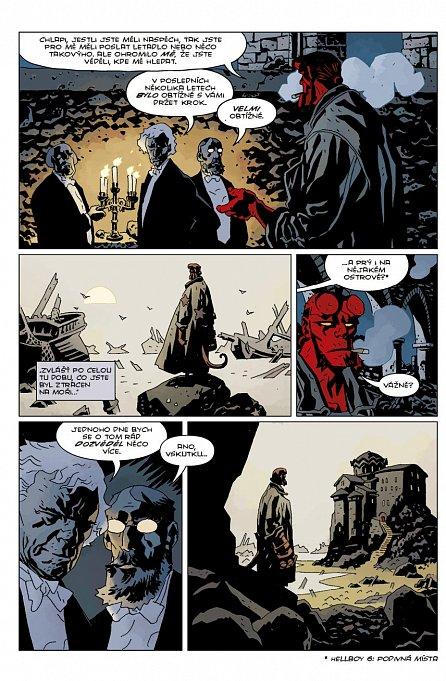 Náhled Hellboy 9 - Divoký hon