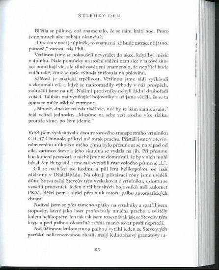 Náhled Nelehký den - Mise, která zabila bin Ládina, v líčení přímého účastníka