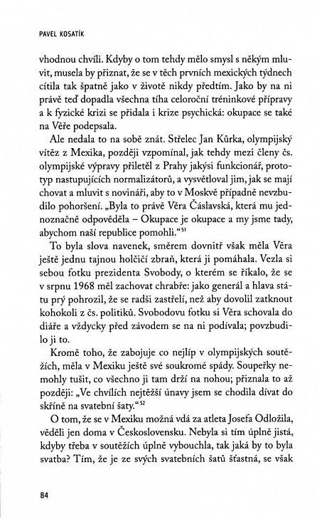 Náhled Věra Čáslavská - Život na Olympu