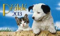 Přátelé - stolní kalendář 2012