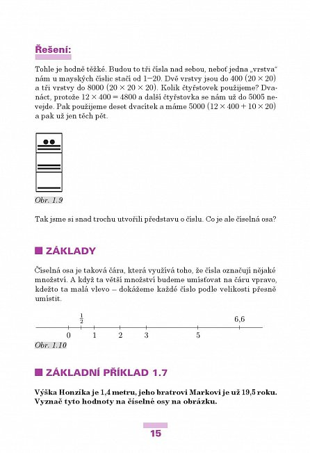 Náhled Matematika pro páťáky aneb Neboj se počítat!
