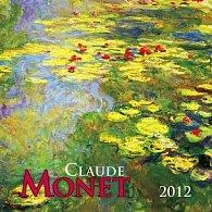 Kalendář 2012 - Claude Monet - nástěnný