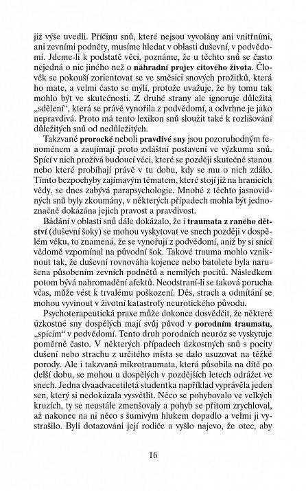Náhled Snář - Lexikon snových symbolů