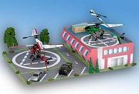 Heliport - jednoduchá vystřihovánka