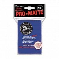 UltraPro: Pro-Matte DP Sleeves - modrá
