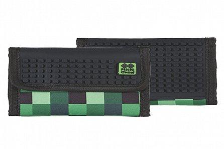Náhled Pixie Peněženka PXA-10 zelená kostka