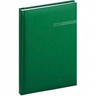 Diář 2016 - Capys - Týdenní A5, zelená,  15 x 21 cm