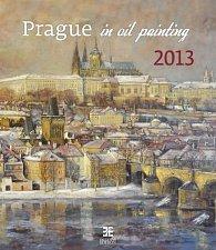 Kalendář nástěnný 2013 - Prague in oil painting
