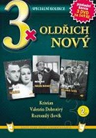 3x DVD - Oldřich Nový 2.