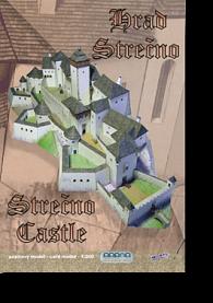 Hrad Strečno - Stavebnice papírového modelu
