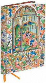 Zápisník Flame Tree Illuminated Manuscript Marriage Feast at Cana Station