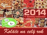 Koláče na celý rok 2014 - stolový kalendár